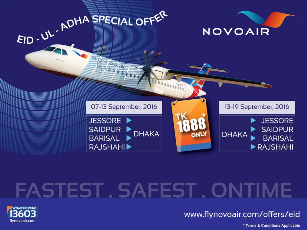 Novoair Eid Offer