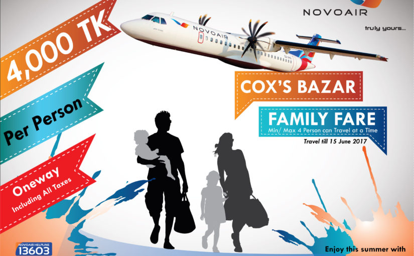 Special offer on BTTF, Fly Cox's Bazar at 4,000 Tk