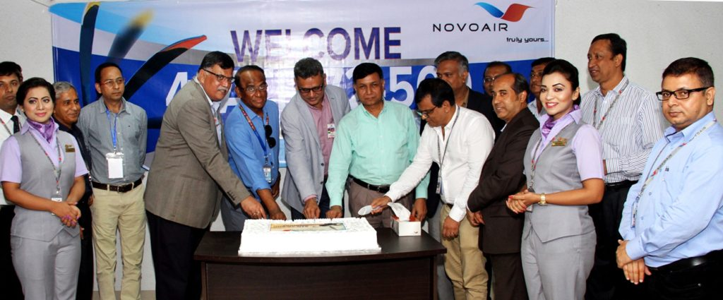 NOVOAIR 4th ATR arrival ceremony (1)