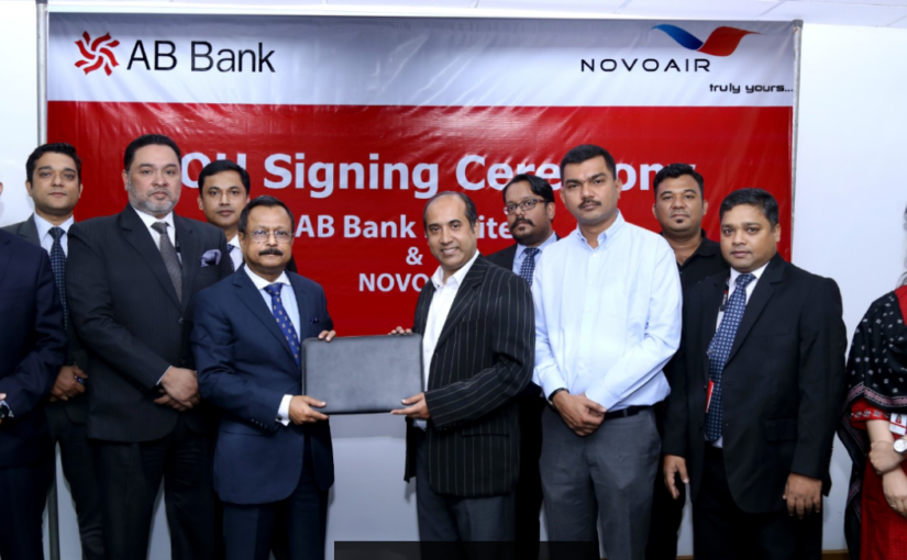 NOVOAIR signed MOU with AB Bank