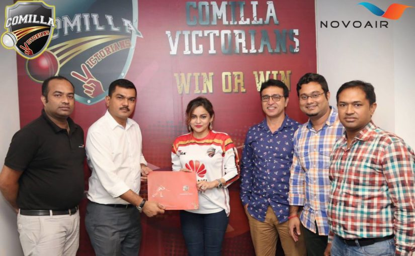 NOVOAIR becomes Airline Partner of Comilla Victorians