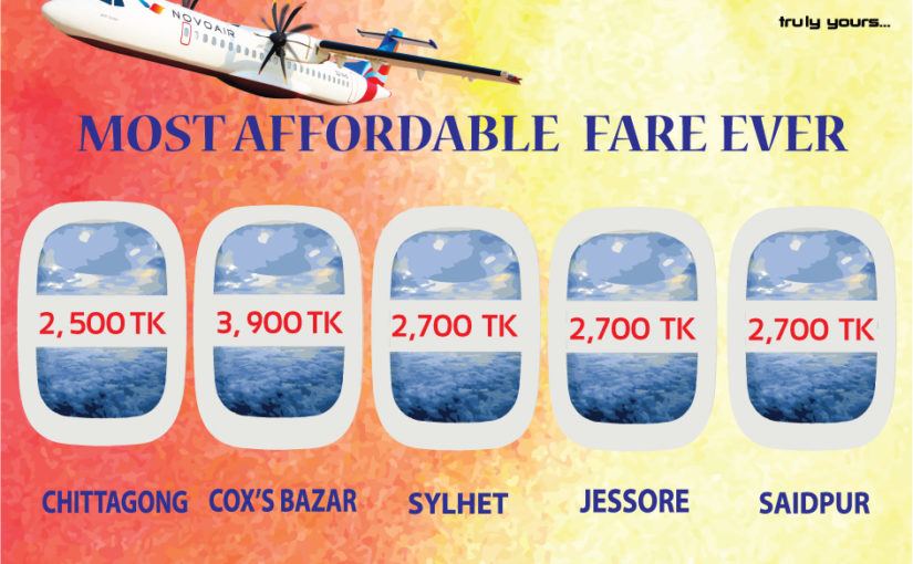 Fly NOVOAIR at Most Affordable Fare