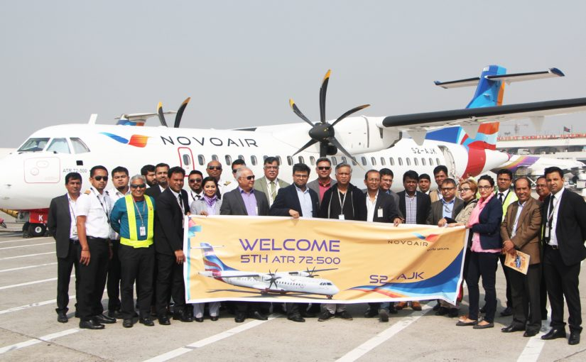 NOVOAIR added 5th ATR in fleet